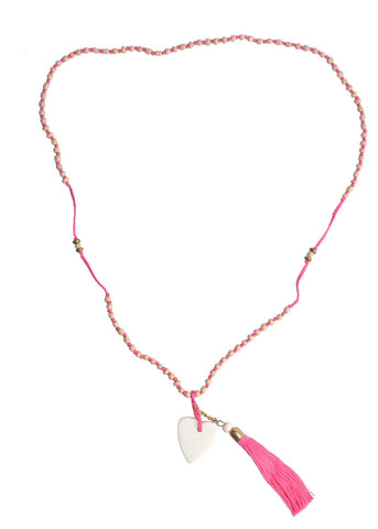 ANJALI NECKLACE PINK