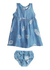 NALA BABYDRESS (in Blue)