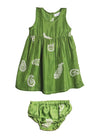 NALA BABYDRESS (in Green)