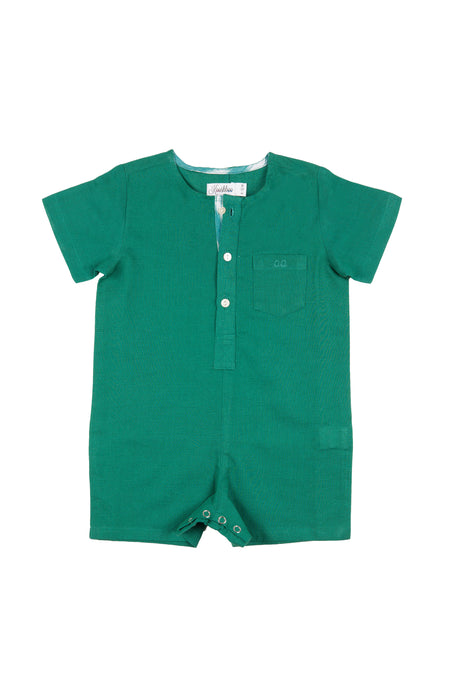 ADAM ROMPER (in Emerald)