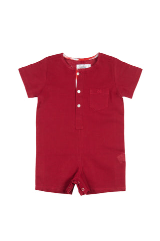 ADAM ROMPER RUBY