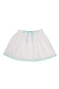 BLOOM SKIRT WHITE