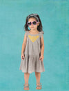 EMMA DRESS GREY