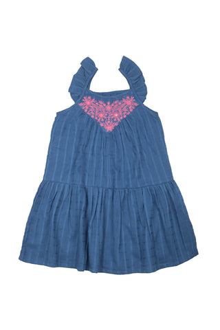 EMMA DRESS INDIGO