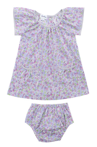 EVA BLOOMER SET - PURPLE