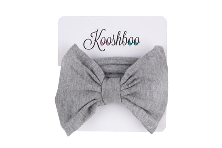 BOW HEADBAND (in Grey)