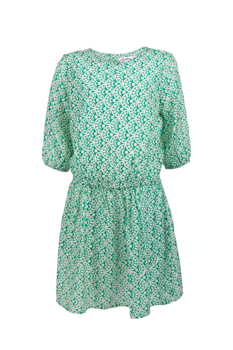 KYRA DRESS GREEN