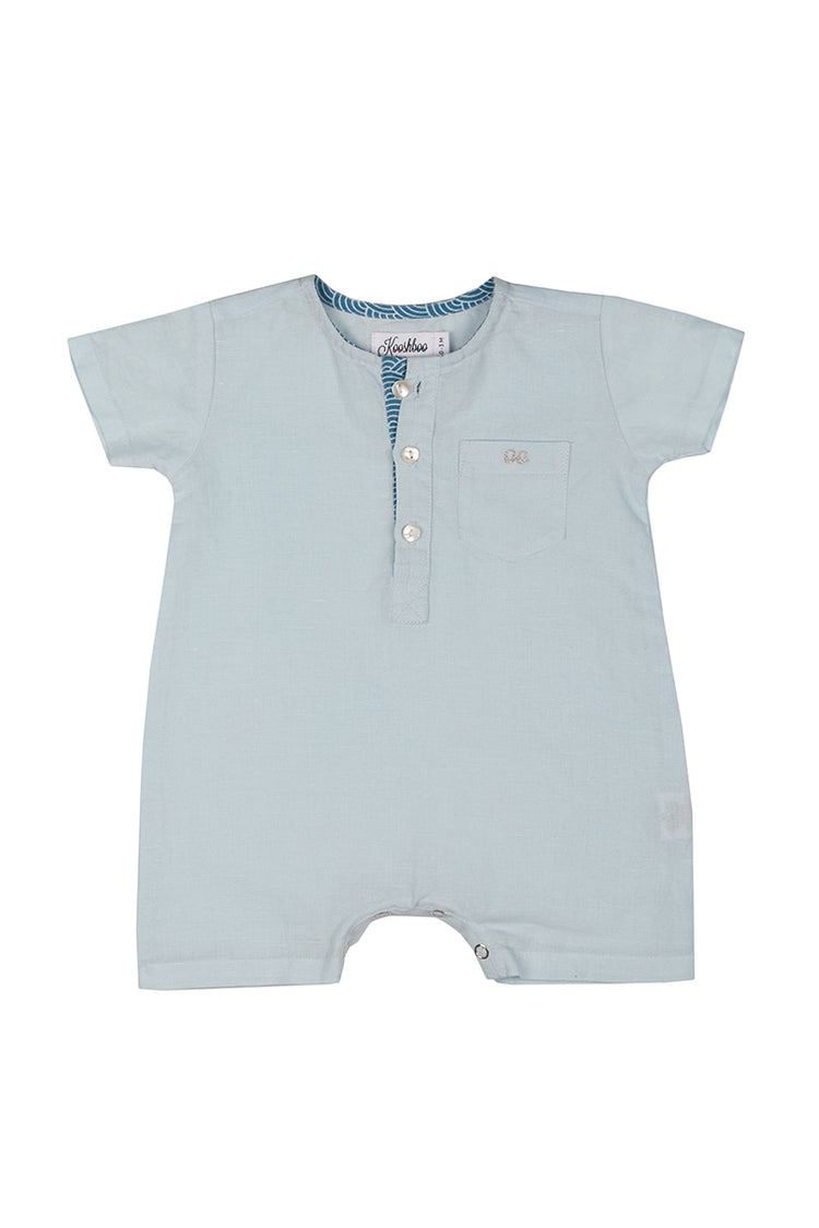 REO ROMPER (in Sky Blue)