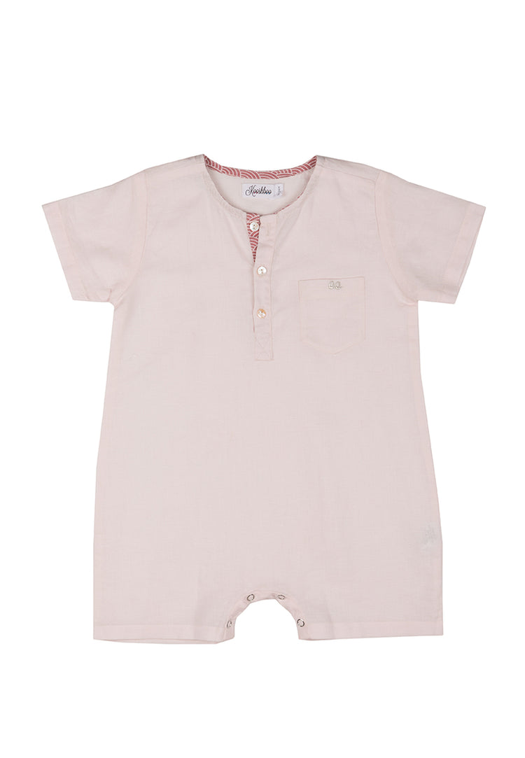 REO ROMPER (in Blush)