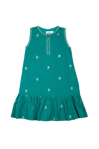 RIKA DRESS TEAL