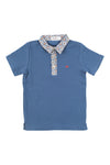AIDEN POLO BLUE