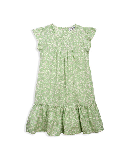 BUTTERFLY DRESS GREEN