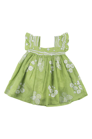 JAMINI BABYDRESS - OLIVE