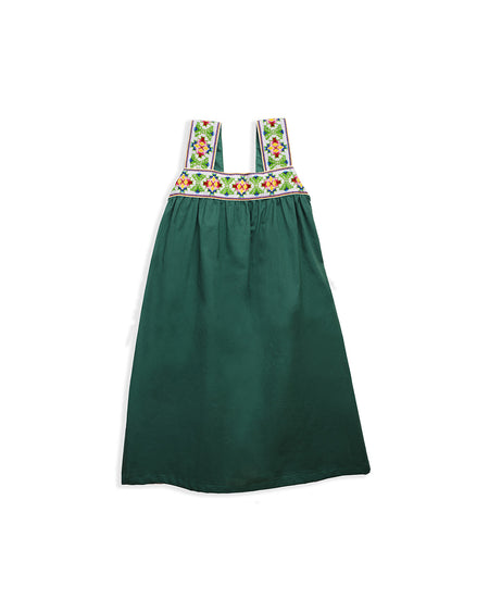 JEWEL DRESS GREEN