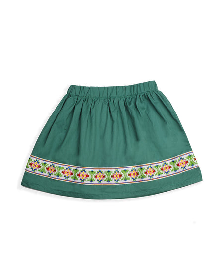 JEWEL SKIRT (in Green)