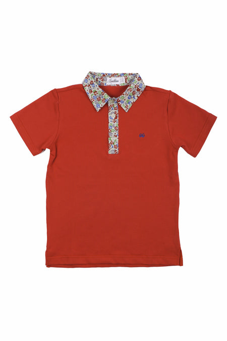 AIDEN POLO RED