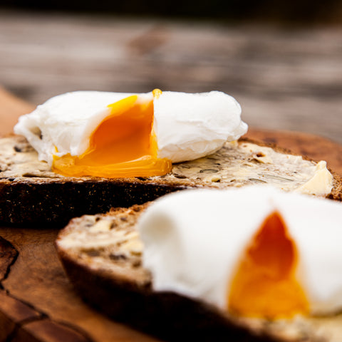 Pouched eggs