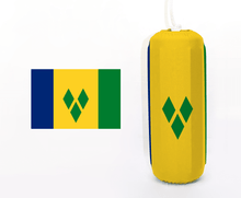 Load image into Gallery viewer, Flag of Saint Vincent and the Grenadines