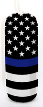 Load image into Gallery viewer, Thin Blue Line Flag - Flexifabrics Marine