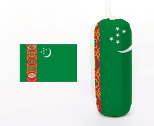 Load image into Gallery viewer, Flag of Turkmenistan