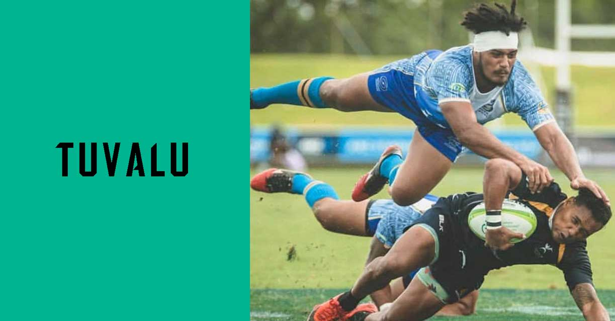 Tuvalu custom rugby kit Stingz