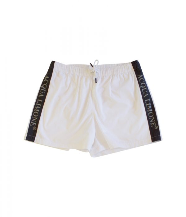 Swim Pants - White - Acqua Limone