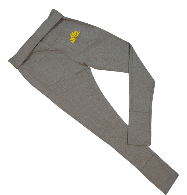 Donna Long Pants  Co. Lycra - Grey - Acqua Limone