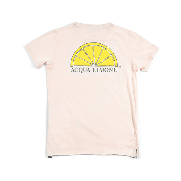 T-Shirt Classic - Powder Pink - Acqua Limone