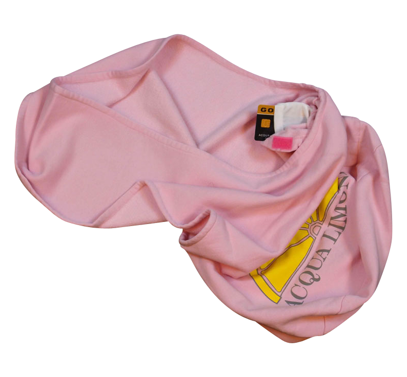 Beach Bag, Pink, O/S - Acqua Limone