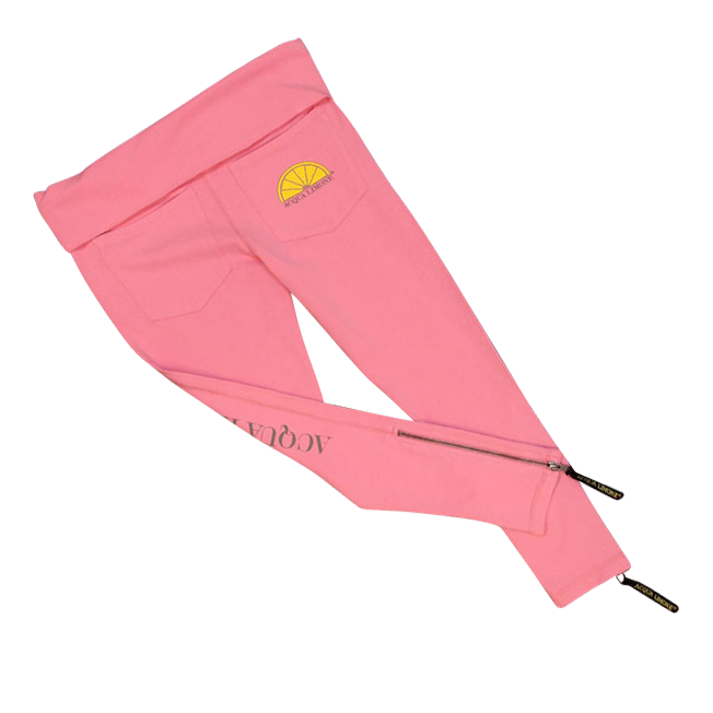 Donna 3/4 Tights Co. Lycra, Hot Pink, O/S - Acqua Limone