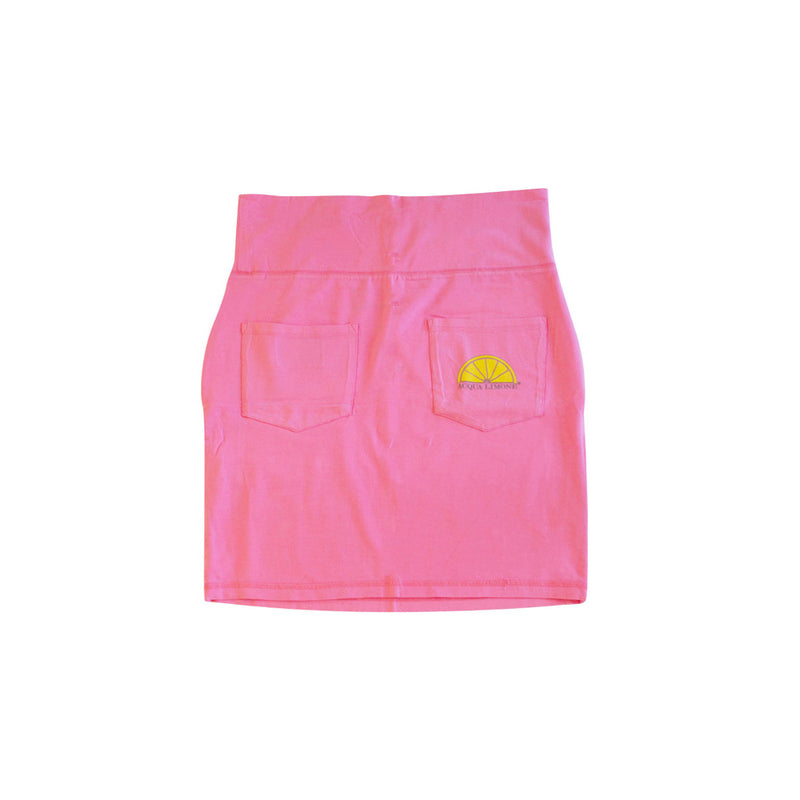 Donna Skirt Co. Lycra, Hot Pink, O/S - Acqua Limone