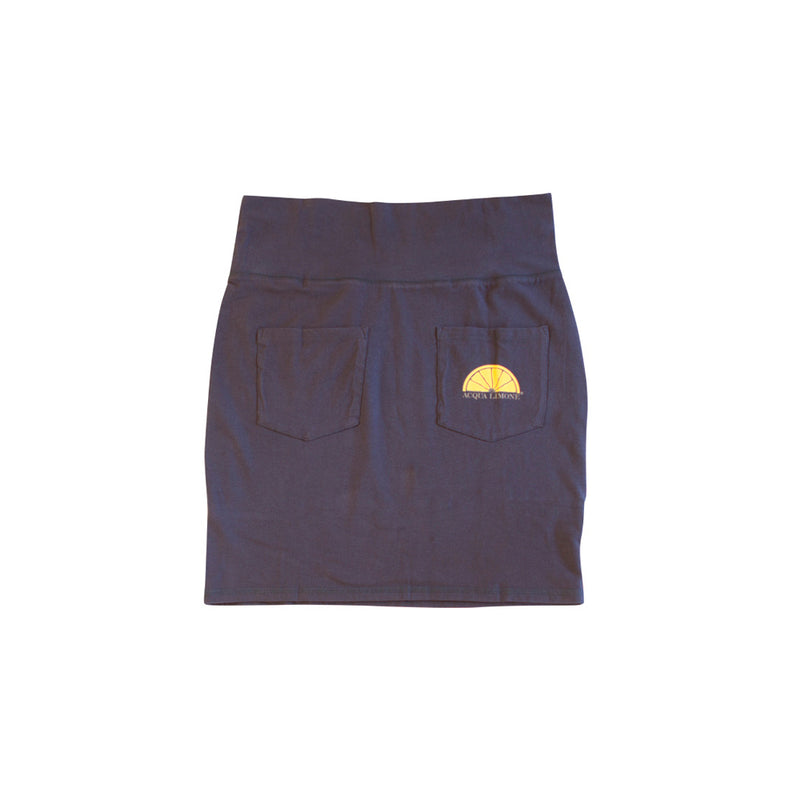 Donna Skirt Co. Lycra, Navy, O/S - Acqua Limone