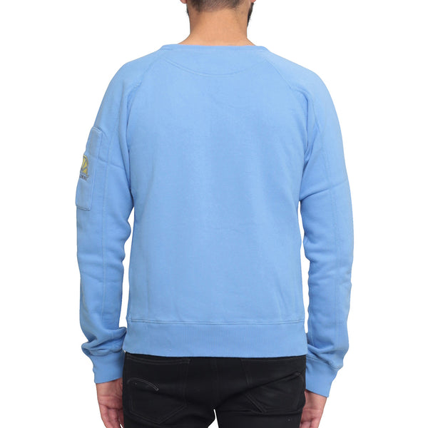 College Sleeve Pocket - Corn Blue - Acqua Limone