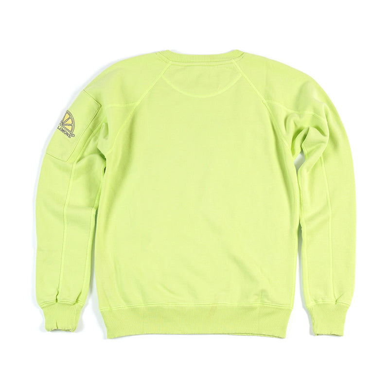 College Sleeve Pocket - Lime - Acqua Limone