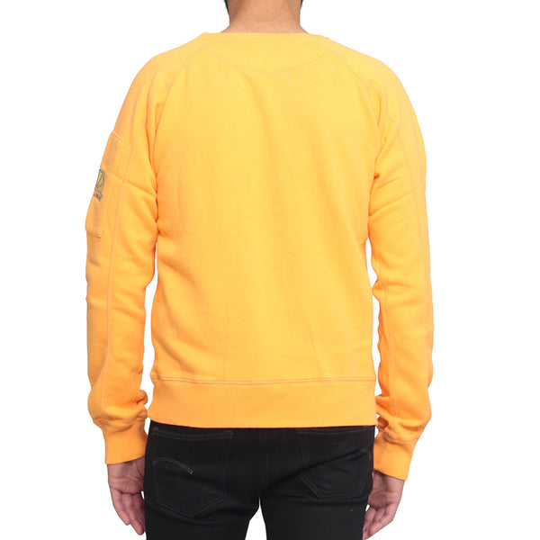 College Sleeve Pocket - Orange - Acqua Limone