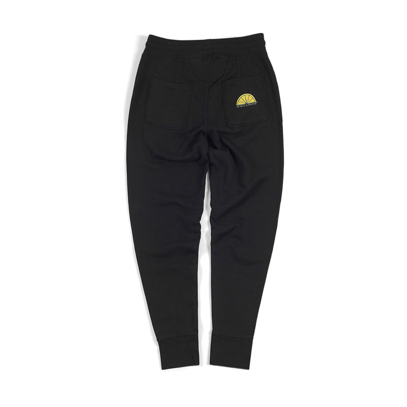 Sweatpants Cuff - Black - Acqua Limone