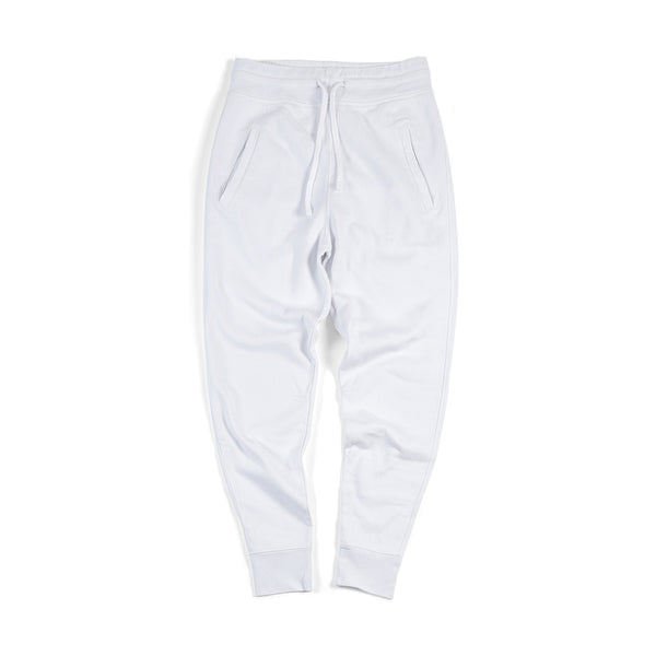 Sweatpants Cuff - White - Acqua Limone