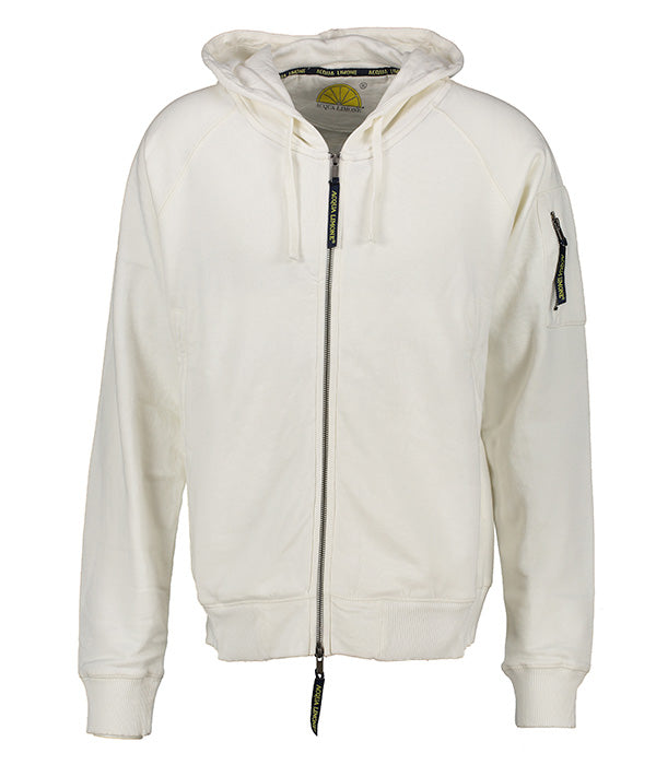 Hood Jacket Print - Off-White - Acqua Limone