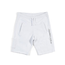 Sweat Shorts Print - White - Acqua Limone
