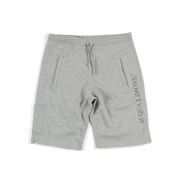 Sweat Shorts Print - American Grey - Acqua Limone