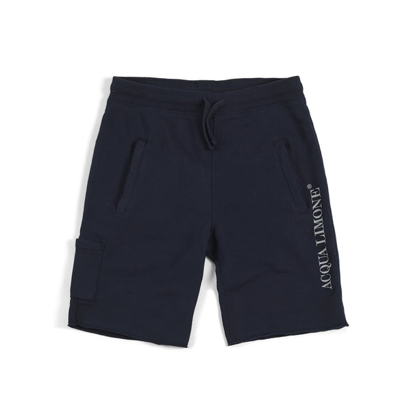 Sweat Shorts Print - Navy - Acqua Limone