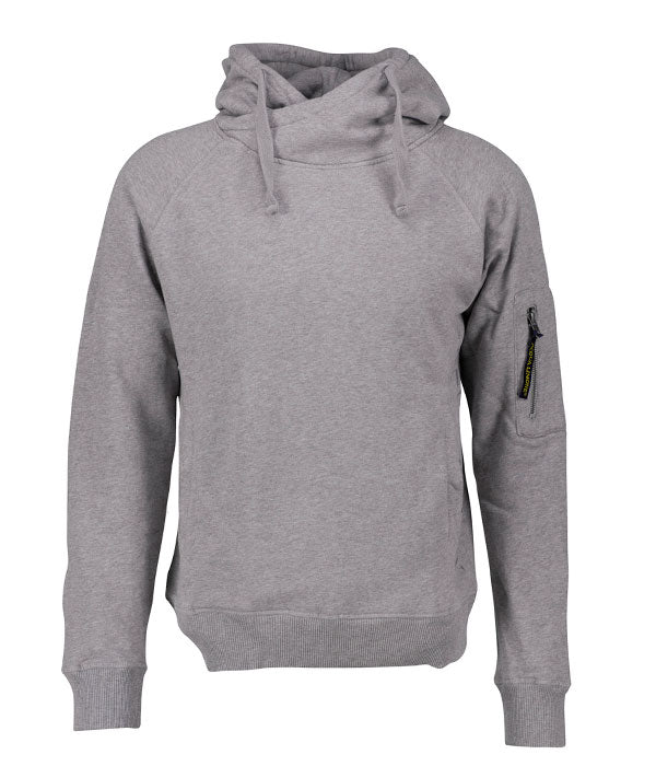 Hood Sweat - American Grey - Acqua Limone