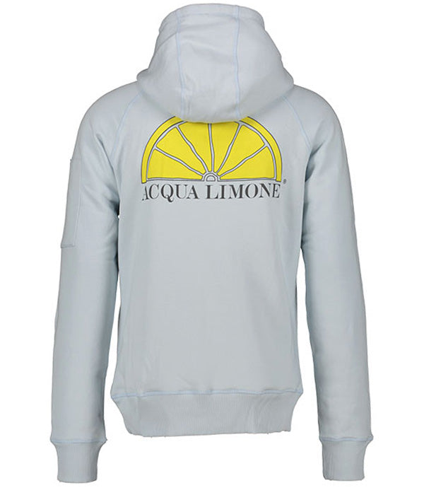 Hood Sweat - Ice Blue - Acqua Limone