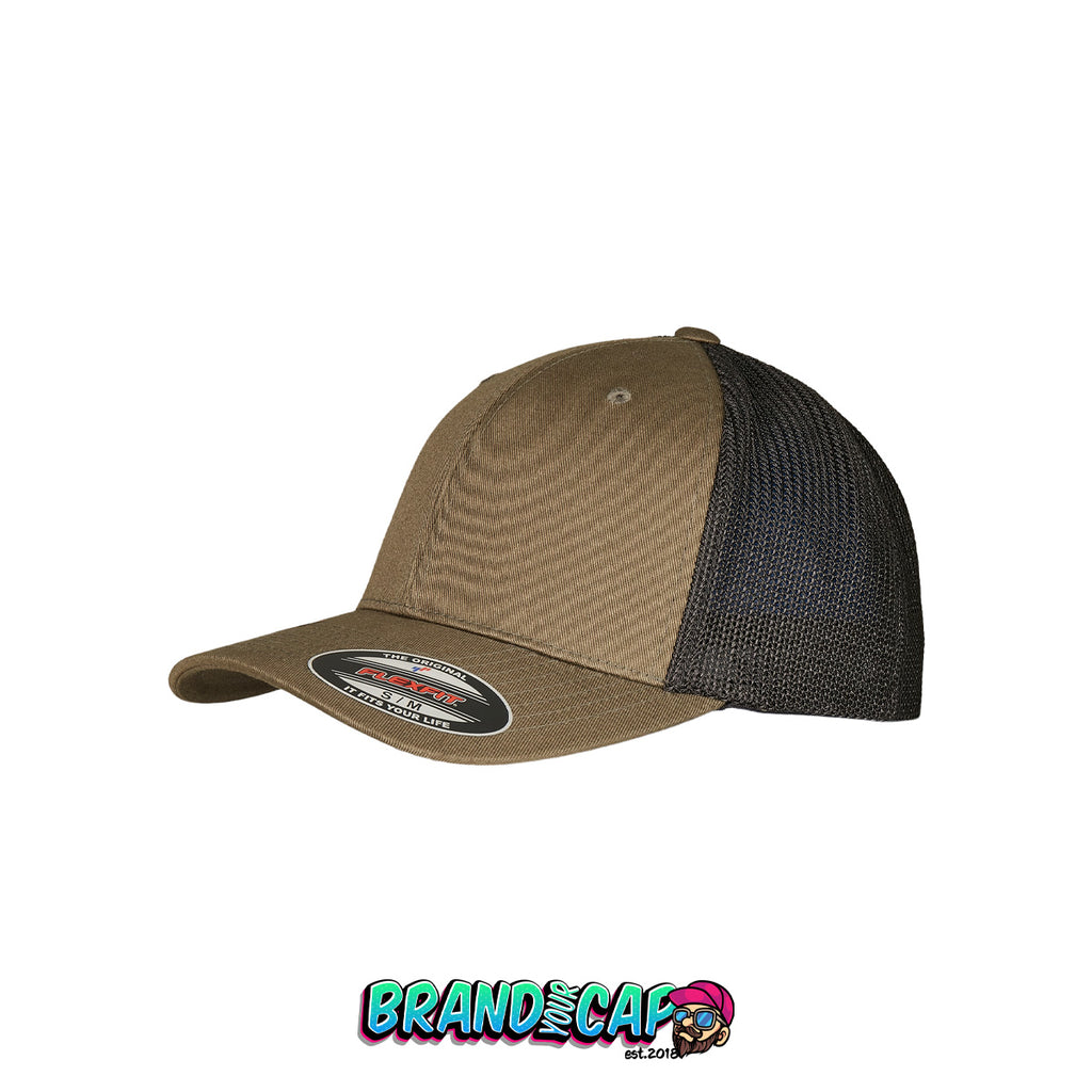Flexfit Trucker Recycled Mesh® - olive / black