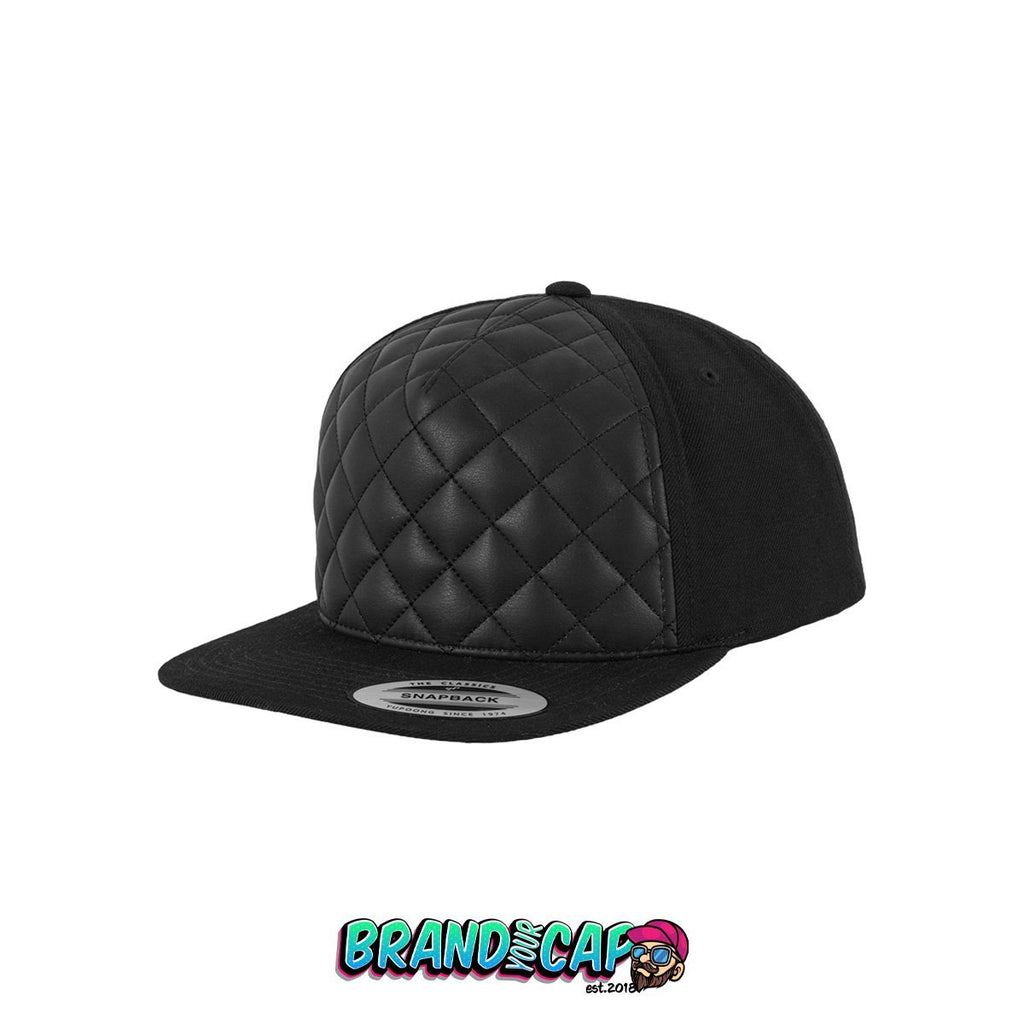 Diamond Quilted - black - BrandyourCap.de