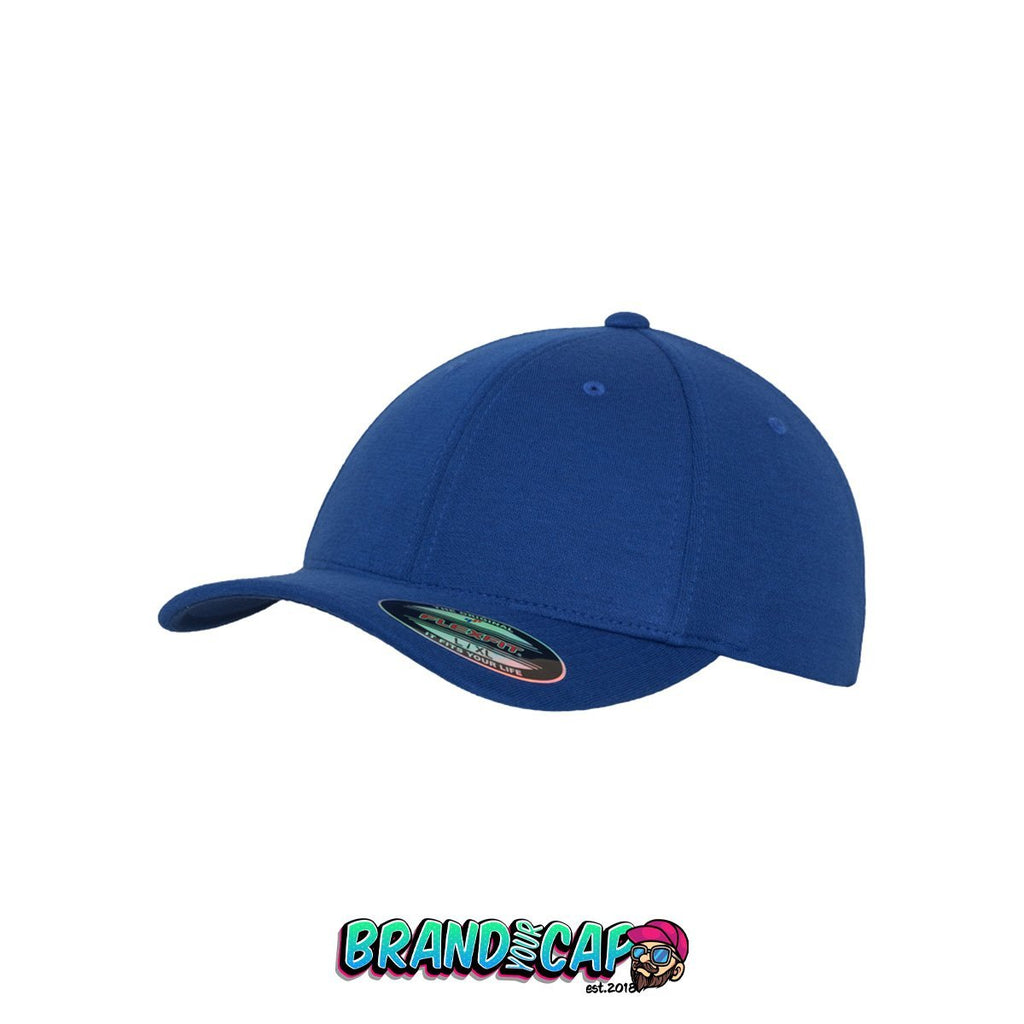 Flexfit Double Jersey - royal - BrandyourCap.de