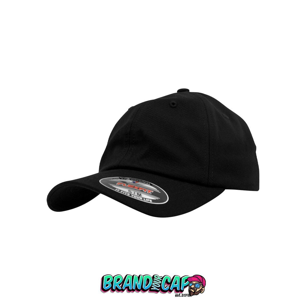 Gorra Flexfit Low Profile Light Wooly - negro - BrandyourCap.de