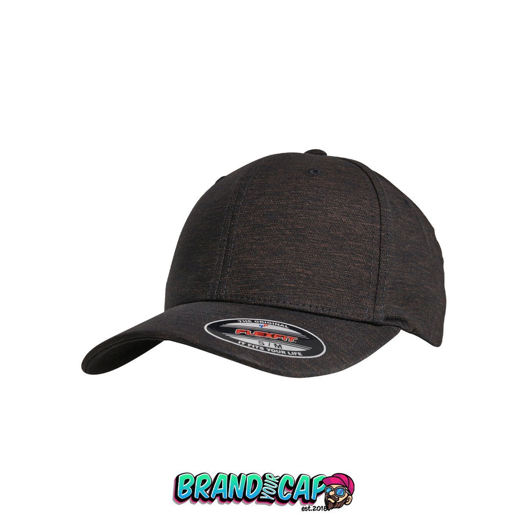 Flexfit Natural Melange - black - BrandyourCap.de