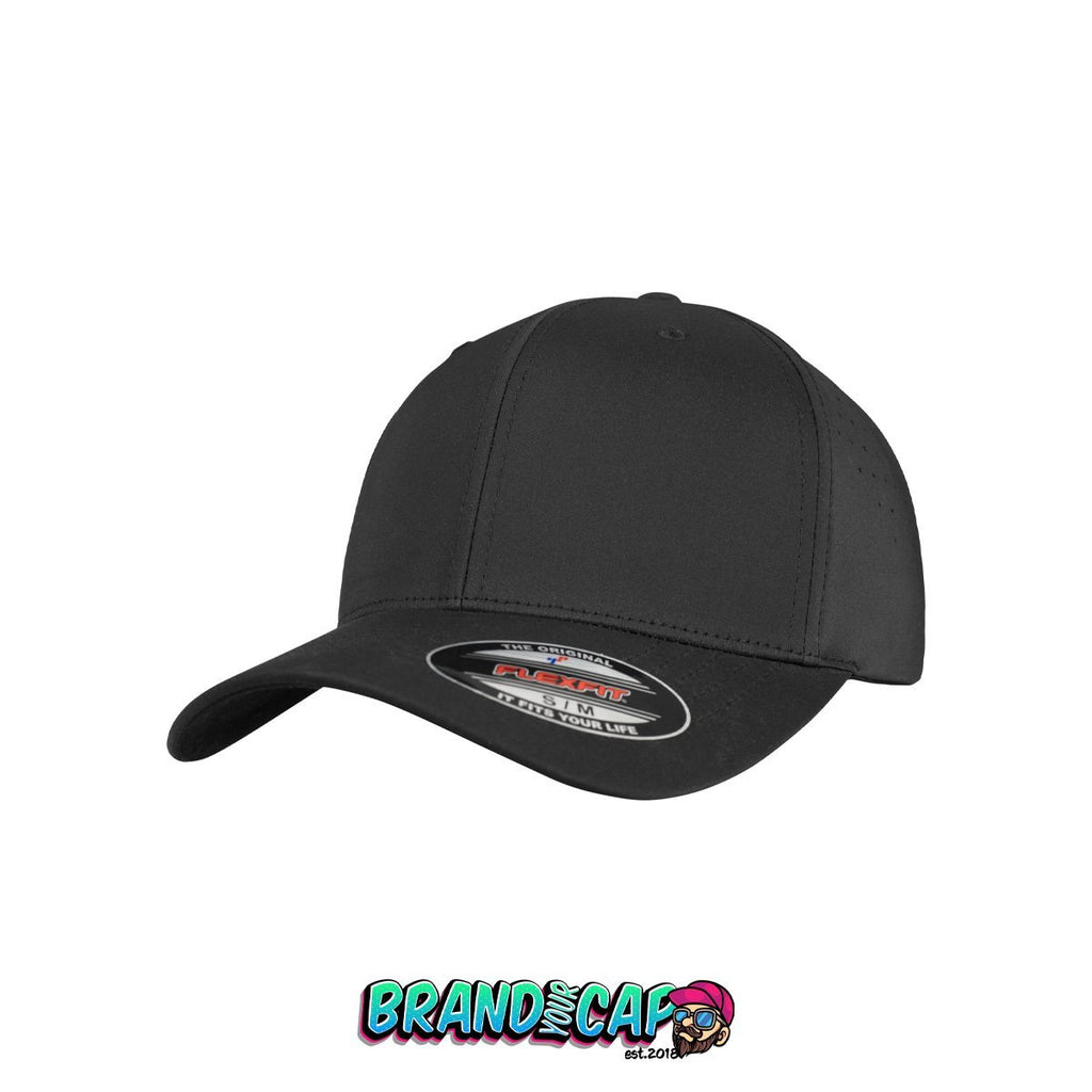 Flexfit Perforated Cap - black - BrandyourCap.de