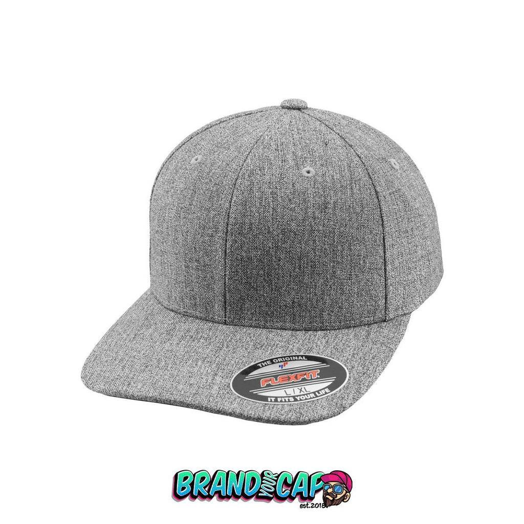 Flexfit Plain Span - heather gray - BrandyourCap.de